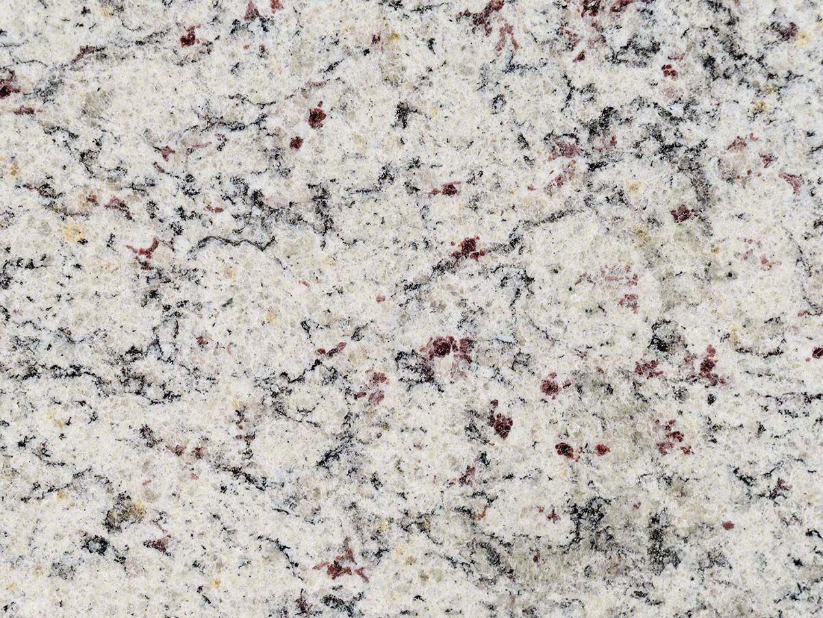Utility Room Granite Dallas White With Demi Bullnose Edge