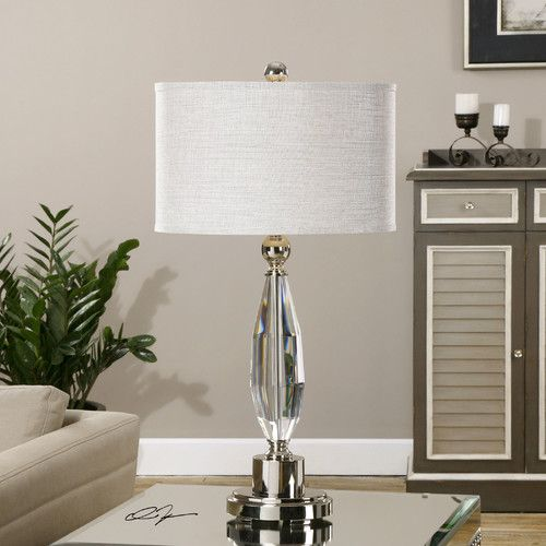 """Found it at Wayfair - Torlino 30.75"""" H Table Lamp with Drum Shade"""