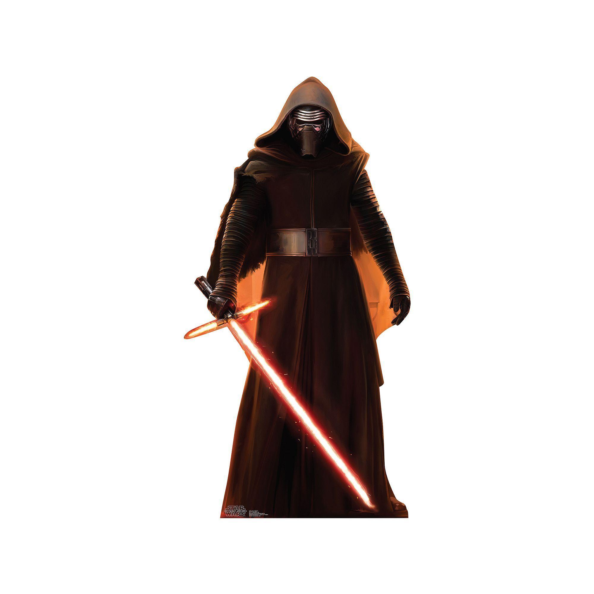 Film-fanartikel 184 Cm Aufsteller & Figuren Star Wars Ep7 Kylo Ren Pappaufsteller Pappfigur Standy Ca