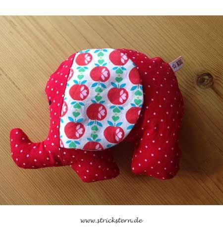 kuscheltier elefant n hen f r kinder pinterest. Black Bedroom Furniture Sets. Home Design Ideas