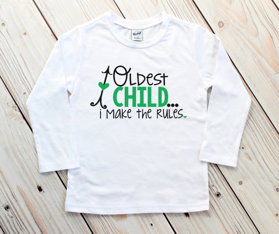 4e6a86a61 Oldest Middle Youngest - Birth Order Shirts - Oldest Child Shirt - Funny  Sibling Shirts - Sibling Ou