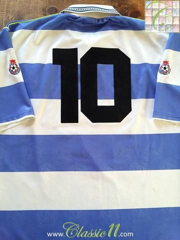 Relive Bradley Allen s 1991 1992 1st Division season with this original  Brooks Queens Park Rangers home football shirt. 17e6c1fda
