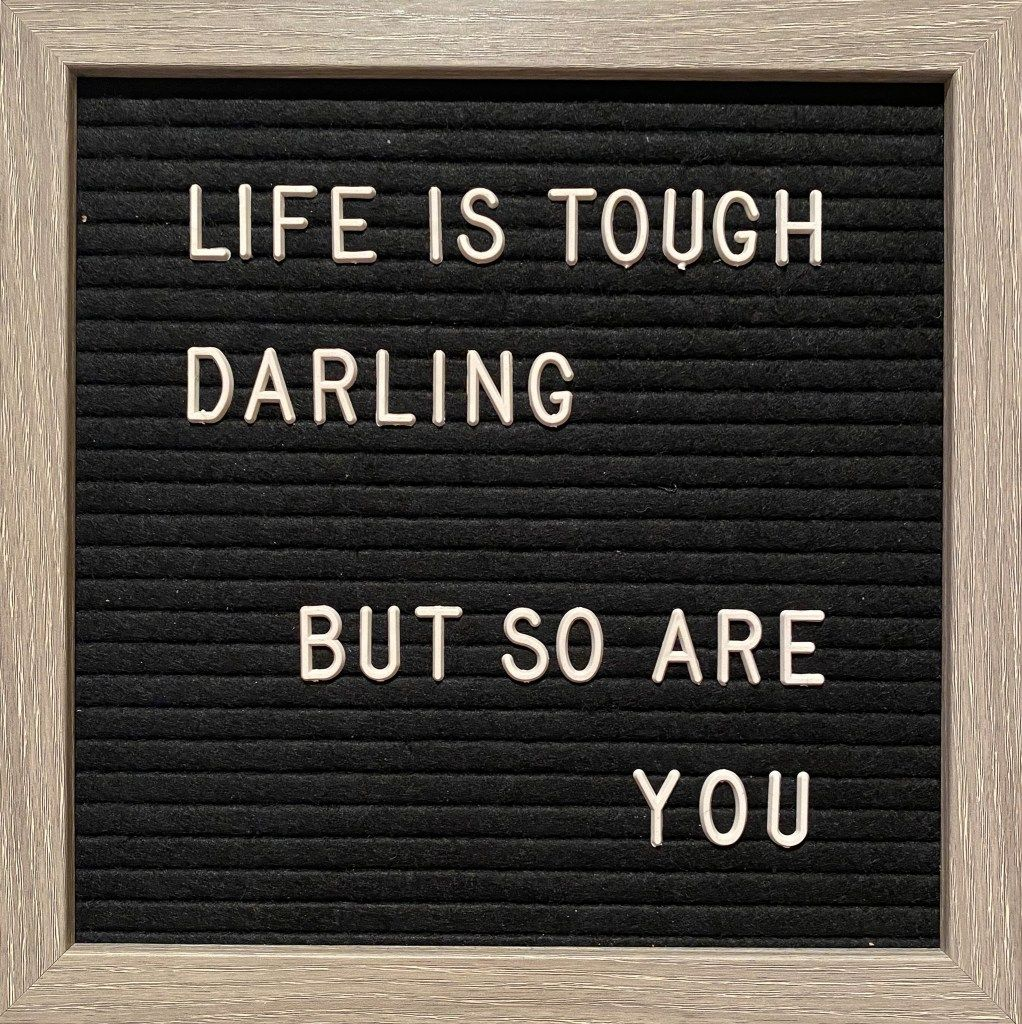 39 Letter Board Quotes To Light Up Your Day - Simply Life By Bri