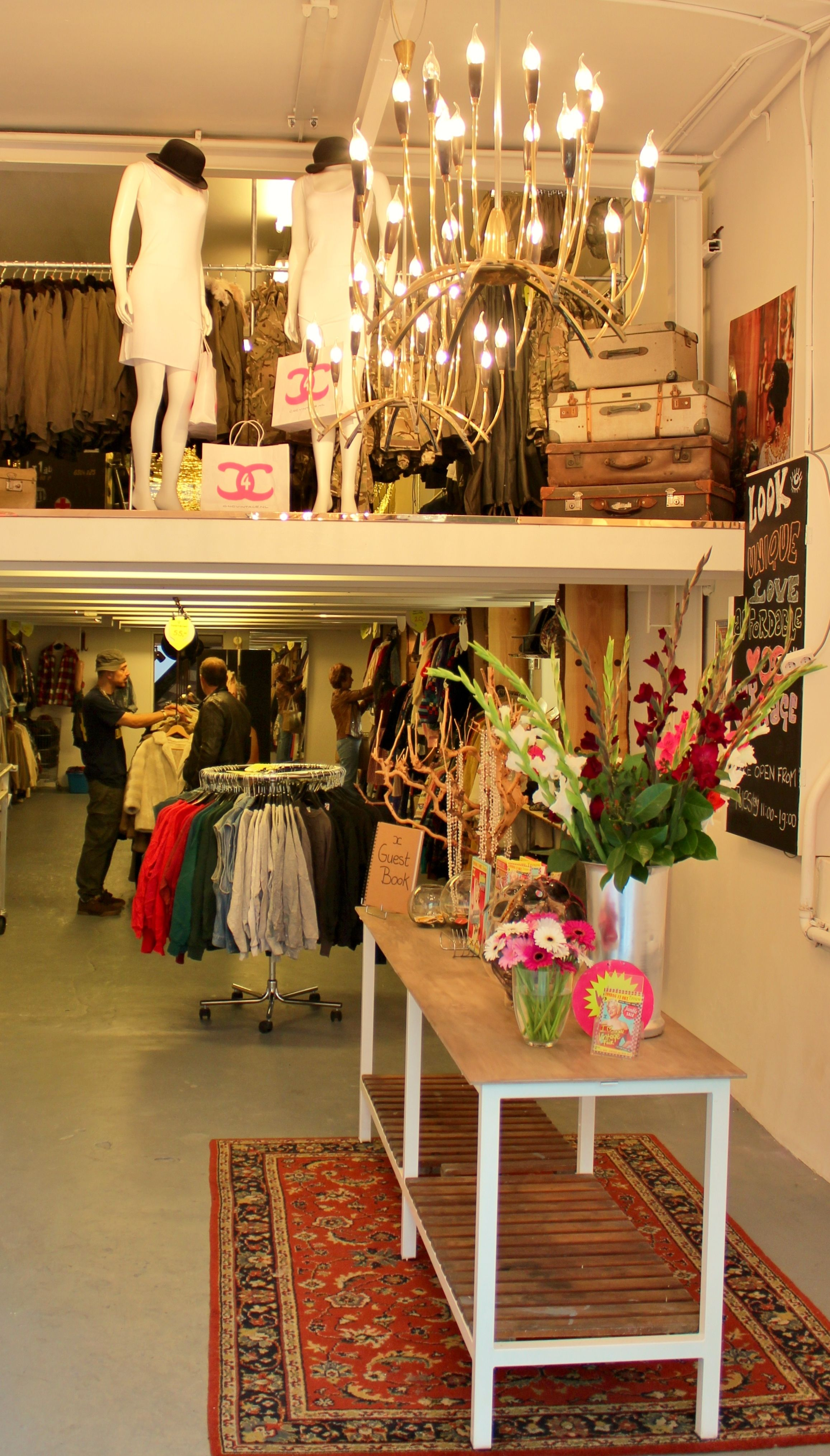 VINTAGE WEARHOUSE AMSTERDAM YES! WERE OPEN Every Monday
