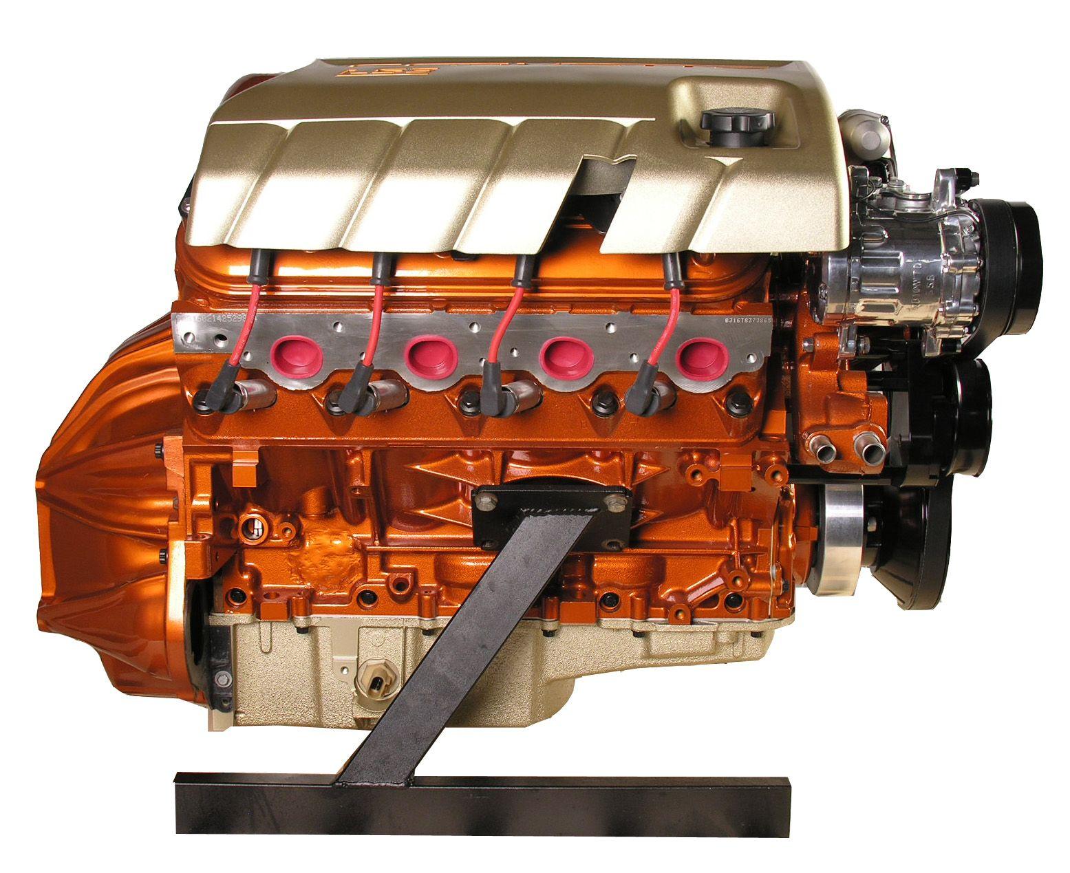 Ls3 Stage 2 Engine 480hp Burnt Orange Champagne Paints
