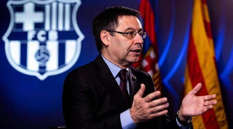 #Barcelona #LaLigaSantander Barcelona says to reduce players salaries some more