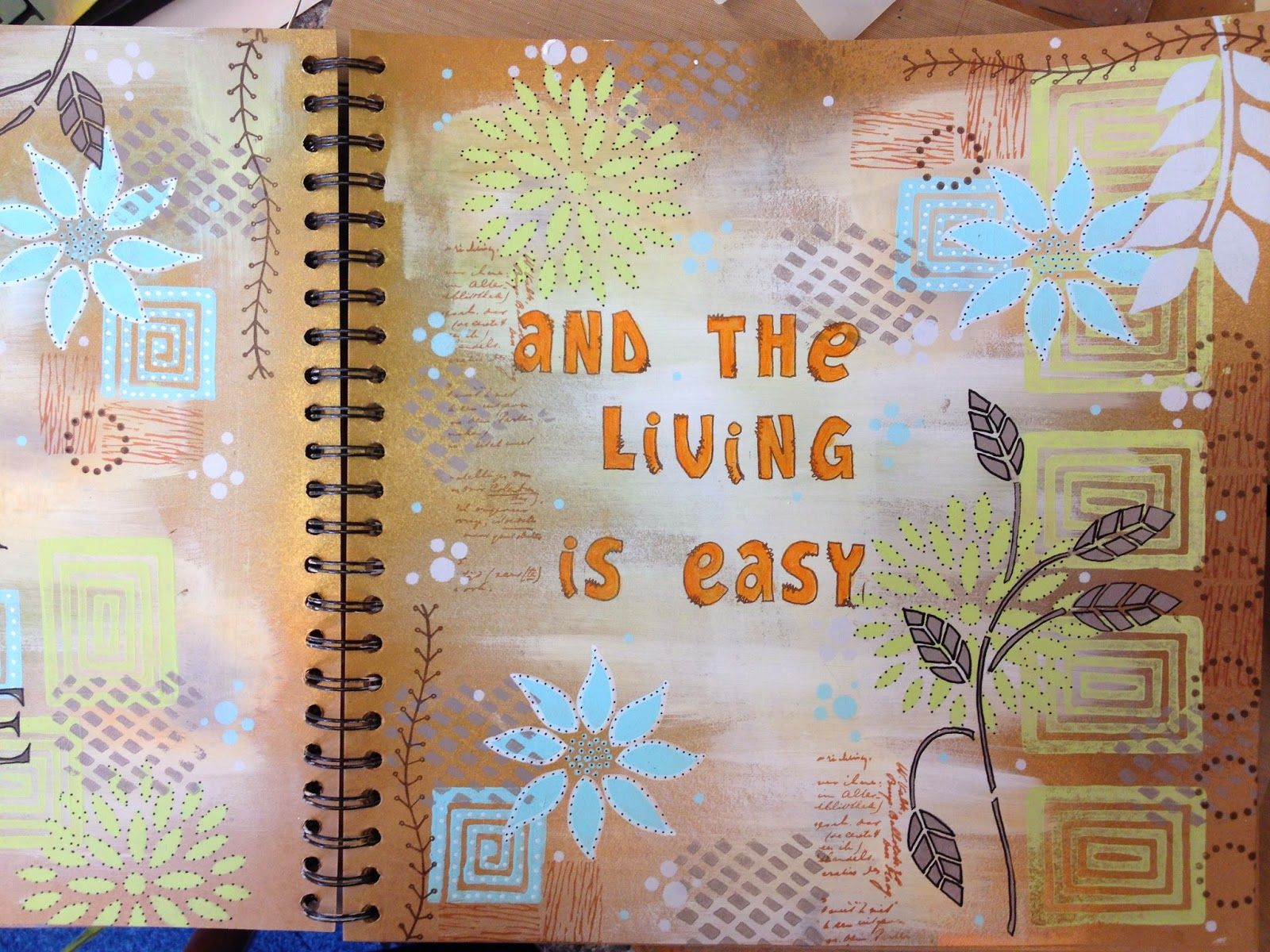Yours Artfully: A page in my journal http://yoursartfully.blogspot.co.uk/2014/06/a-page-in-my-journal.html