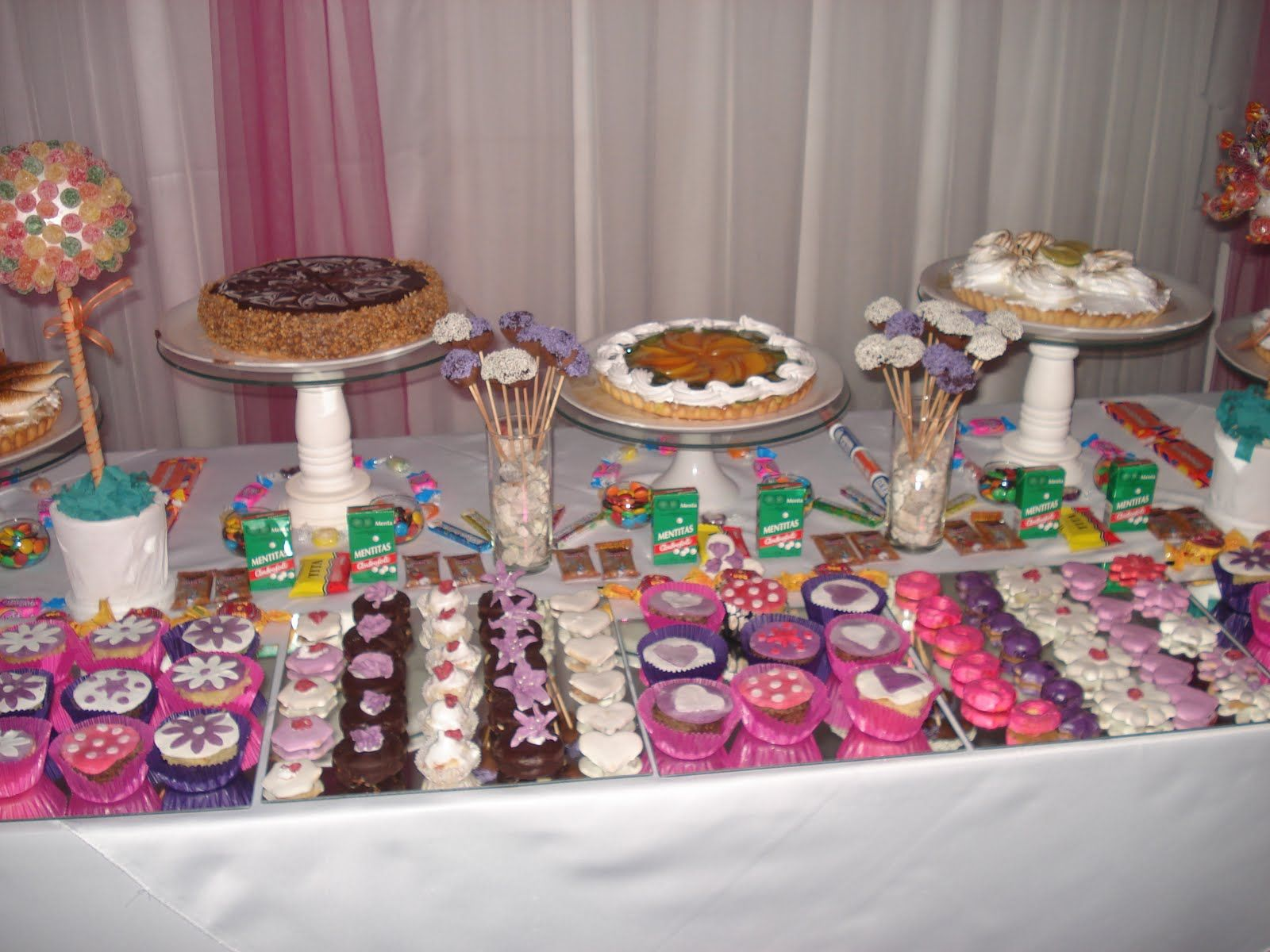 Resultado de imagen para mesas dulces a os