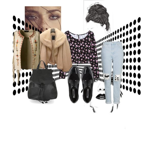 Ain't goin nowhere by j-uny on Polyvore featuring mode, H&M, Christian Dior, Isabel Marant, Topshop and Dune