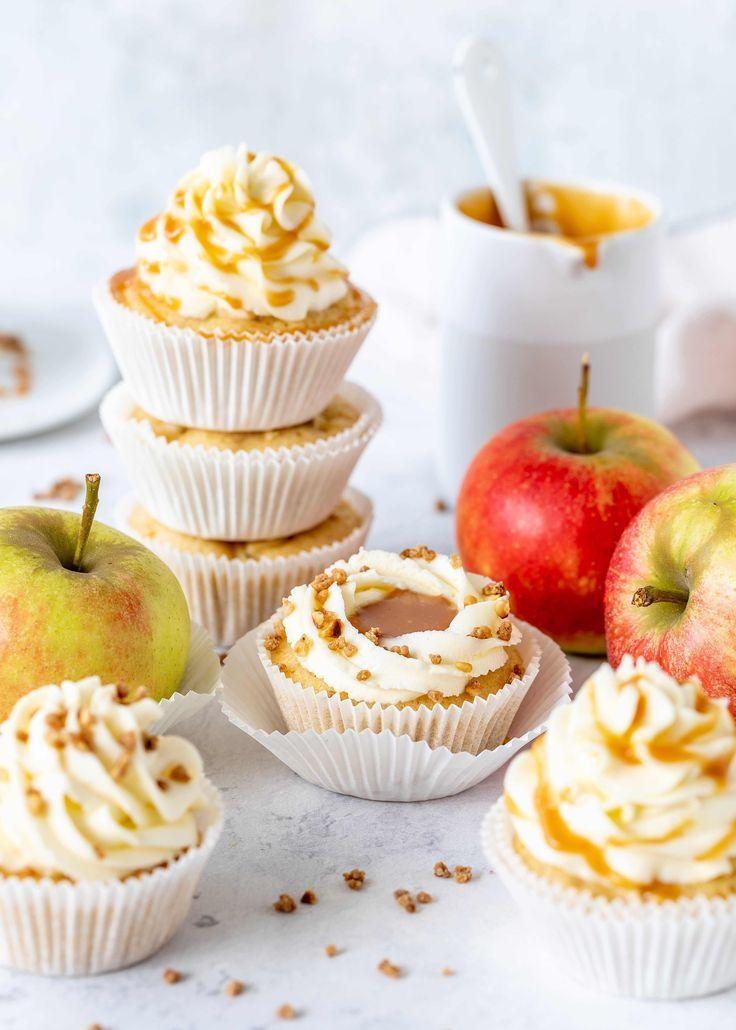 Rezept Apple-Karamell-Kuchen-Muffins Autumn Baking Emmas Lieblingsstücke