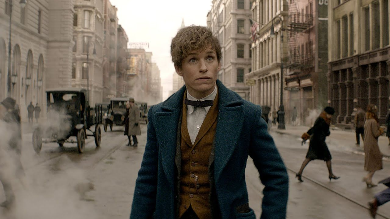 This is gooooooood stuff. Eddie Redmayne in the Harry Potter world...Was surprised and happy they decided to cast him on for this movie.
