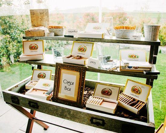 Blog Sobre Organizacion De Bodas Y Eventos Spanish Wedding Planners Ideas Para Decorar Cigar BarSpanish