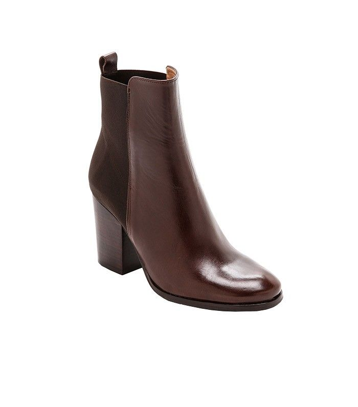 London Jacob Chelsea Heeled Booties via @WhoWhatWear