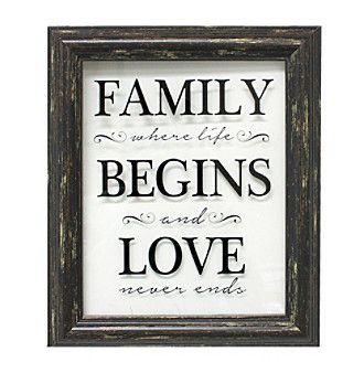 Fetco® Family Begins Love Wall Art