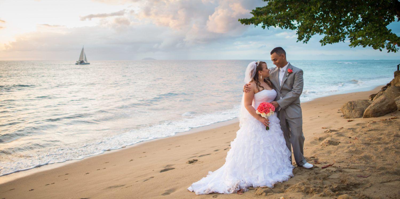 A Beautiful Sunset Destination Wedding Photography Rincon