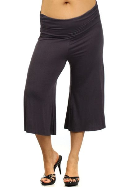 Plus Size Maternity Gauchos-Go Mama Gaucho Pants | dressing cute ...