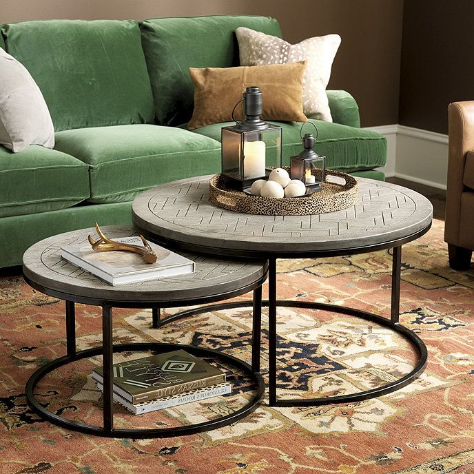 August Nesting Coffee Tables Set Of 2