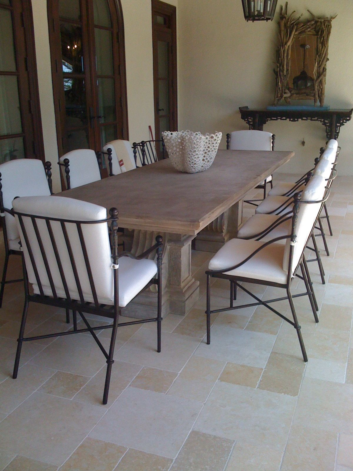 Tile And Decor Tampa Home Decor  Stone Dining Table Httpwwwnataliescottdesigns