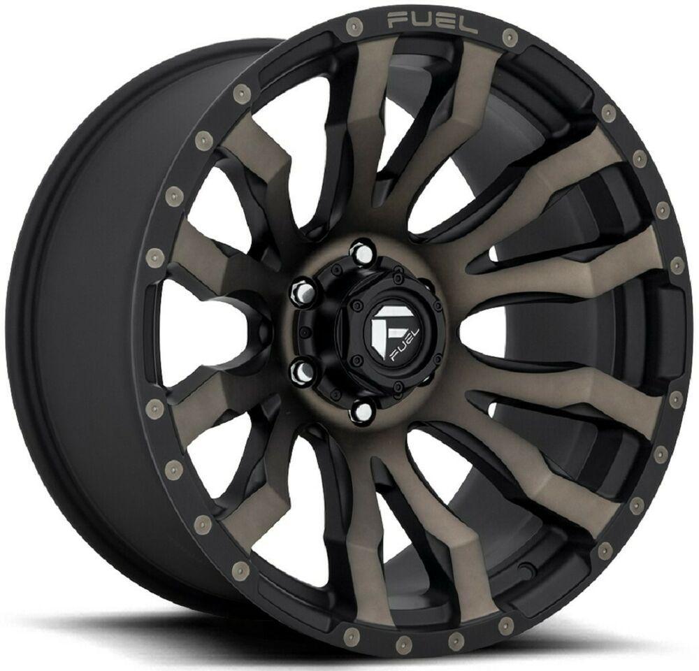 Advertisement Ebay 20 Inch Silverado Fuel 6x139 7 6x5 5 Black With Tint 20x10 18mm 1 Wheel Rim Wheel Rims Custom Wheels And Tires Aftermarket Wheels