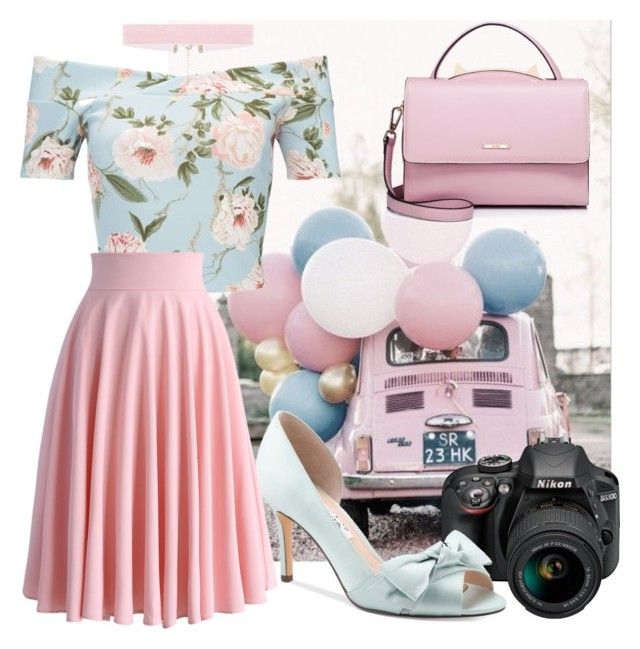 """My Way"" by lullulu on Polyvore featuring Miss Selfridge, Nikon, Nina, WithChic and Chicwish"