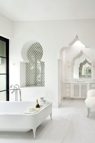 stunning moroccan influences 33 dreamy bedrooms that blend rich color | sherwin-williams silverpointe paint color - Google Search ...