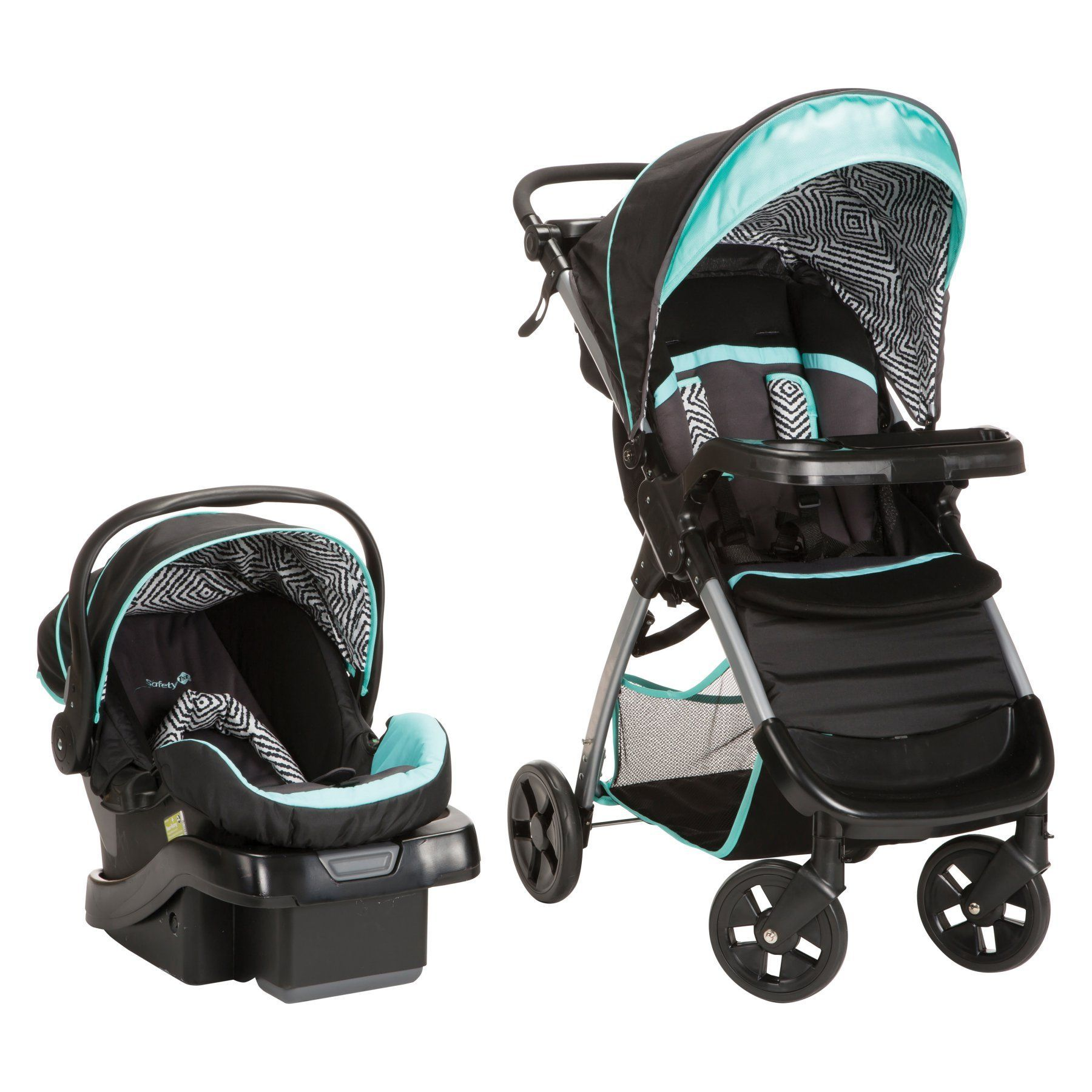 Safety 1st Amble Luxe Travel System Black Ice TR331CYG