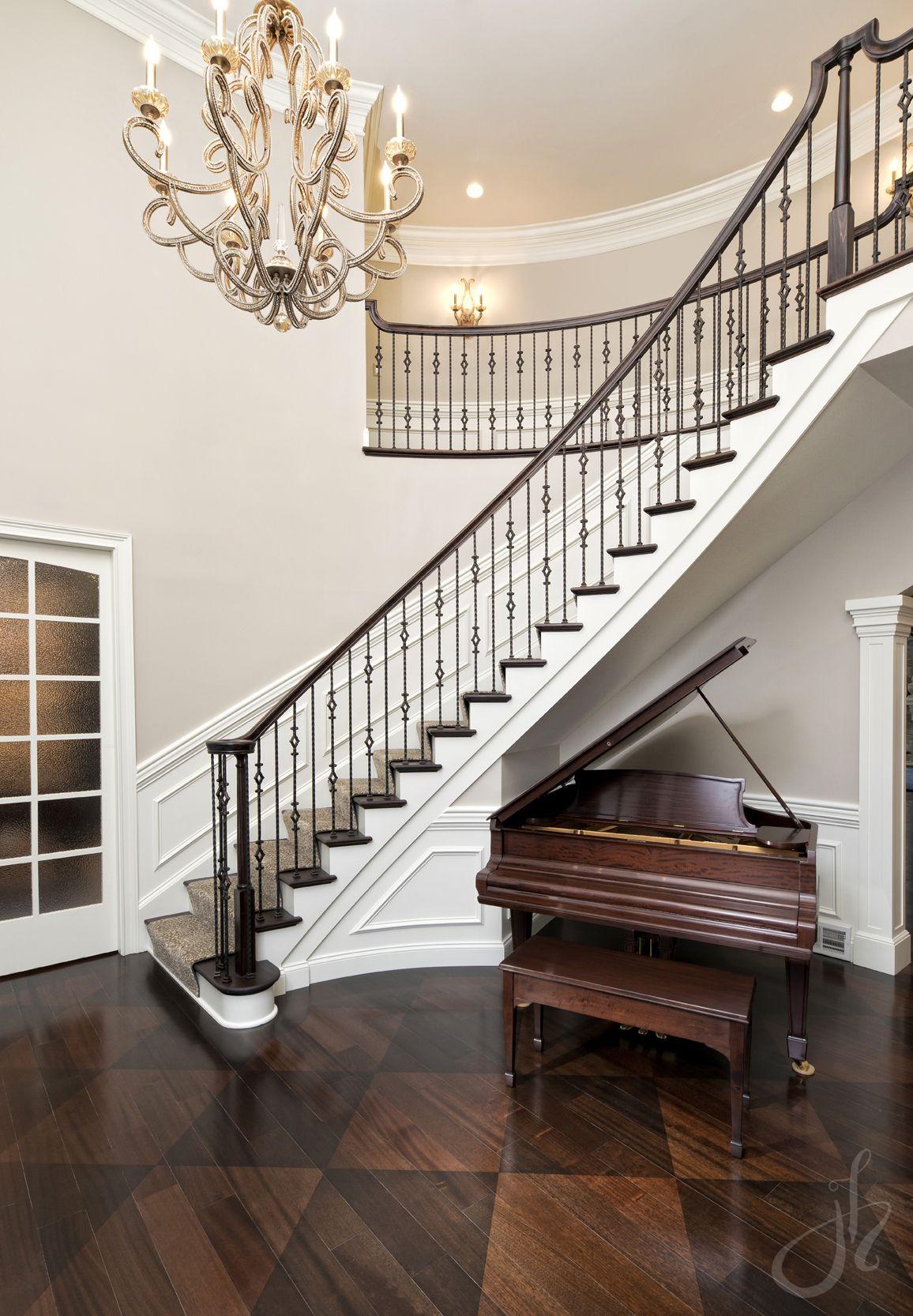 stair runner grand foyer luxury foyer crystal chandelier John