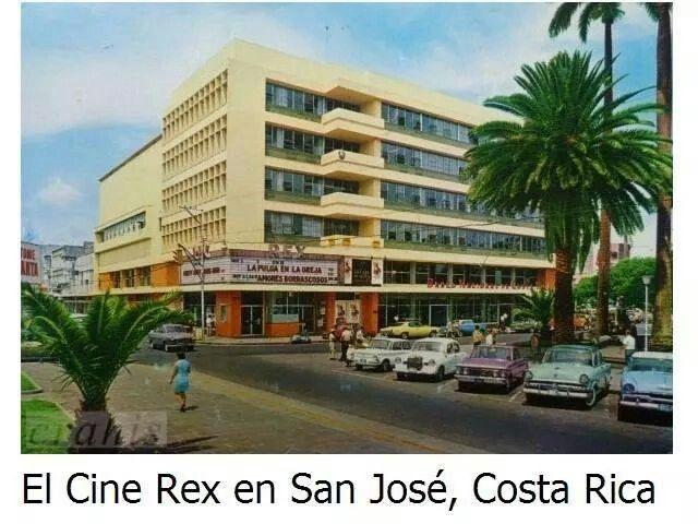 Antiguo Cine Rex San Jose, Costa Rica