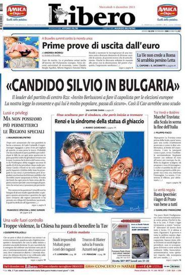 """Italië: """"Silvio Berlusconi kandidaat in Bulgarije"""""""