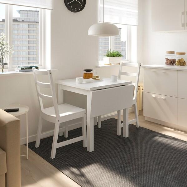 Nordviken Nordviken Table And 2 Chairs White White Ikea Small Dining Table Set Small Table And Chairs 2 Seater Dining Table