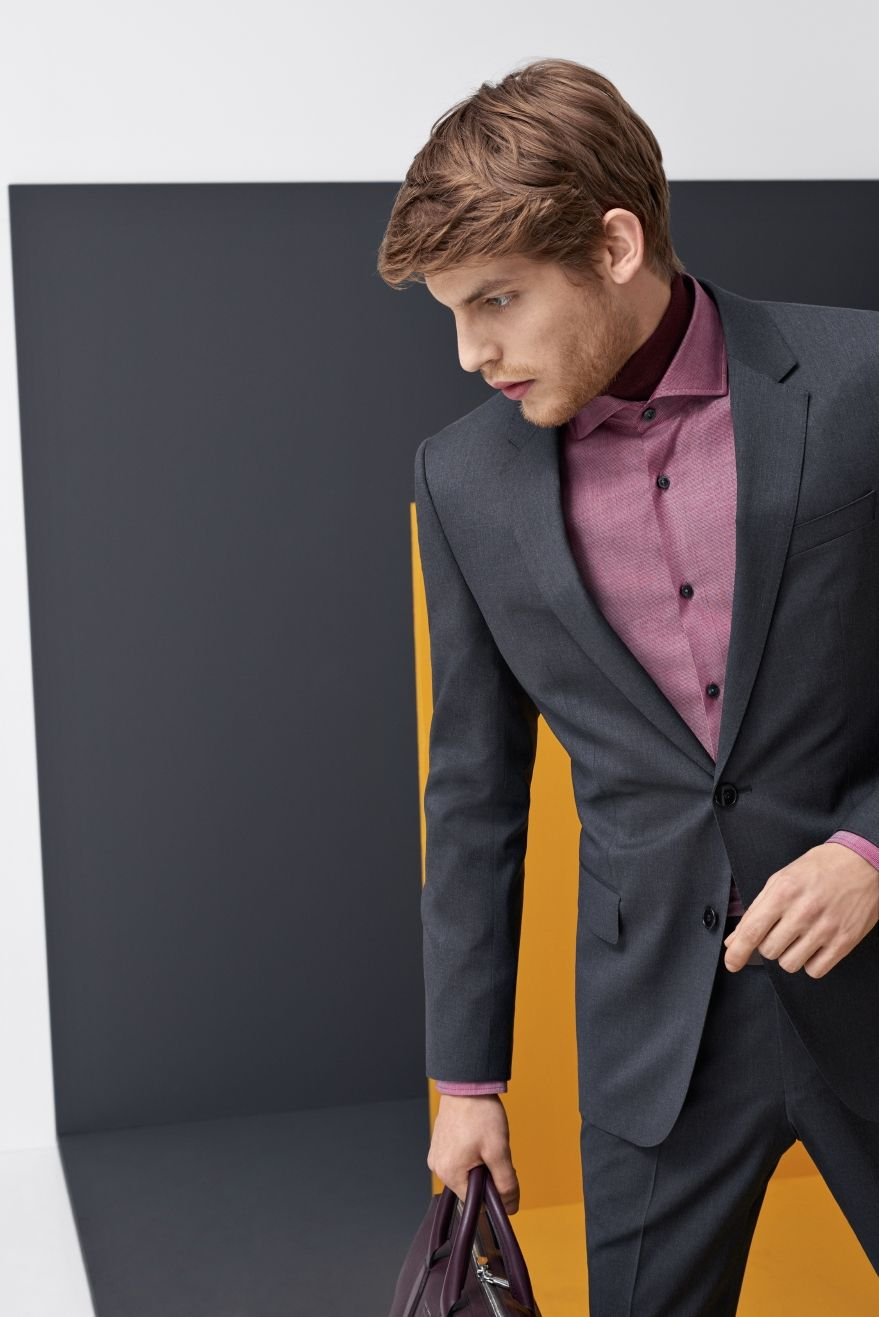 New tailored combinations from the BOSS Menswear Fall/Winter 2016 collection