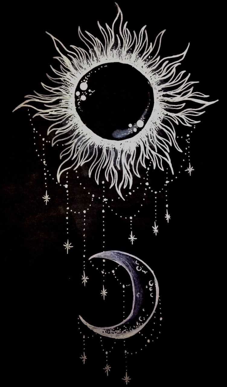 an entry from qiisha is part of Moon tattoo - An entry from Qiisha Tumblrart Boho