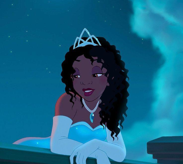 Tiana Aesthetic Pfp in 2020   Disney princess fan art ...