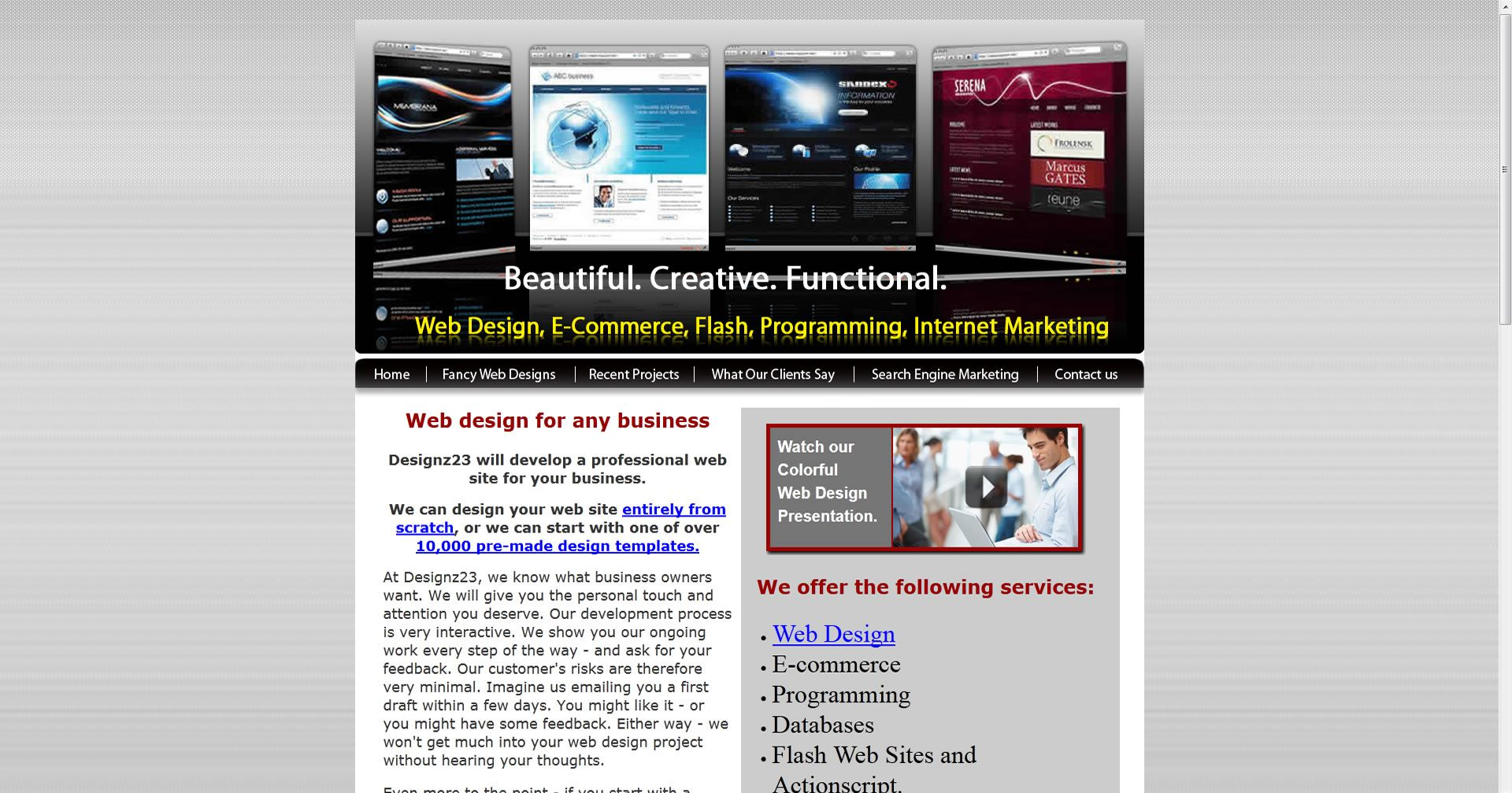 9th Worst Web Design Of 2013 Web Design Design Website