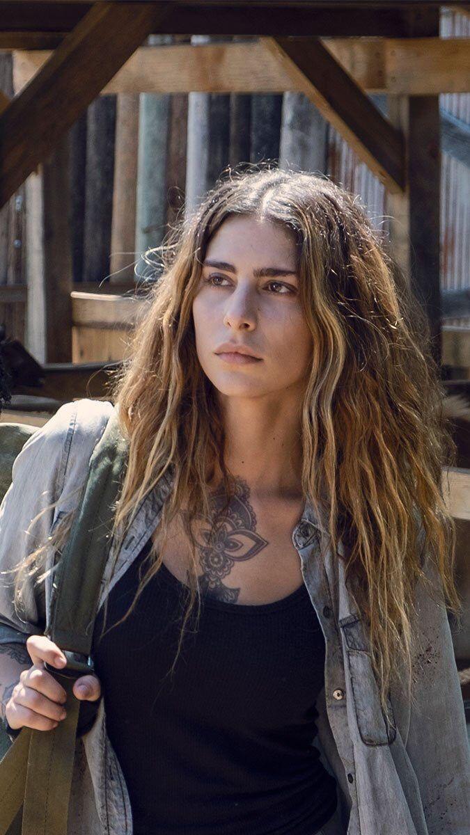 Fic Inspiração De Rosto Para Personagen Brieh Narson Protagonista Da História The Walking Dead Series E Filmes Filmes