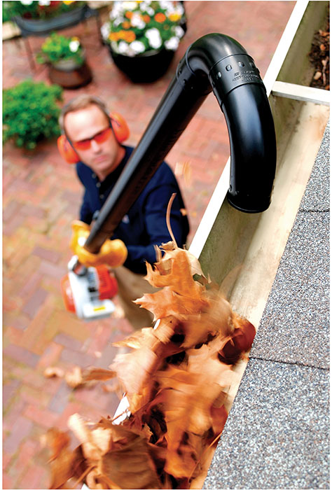 A Series Of Plastic Tubes Attach To Your Stihl Handheld