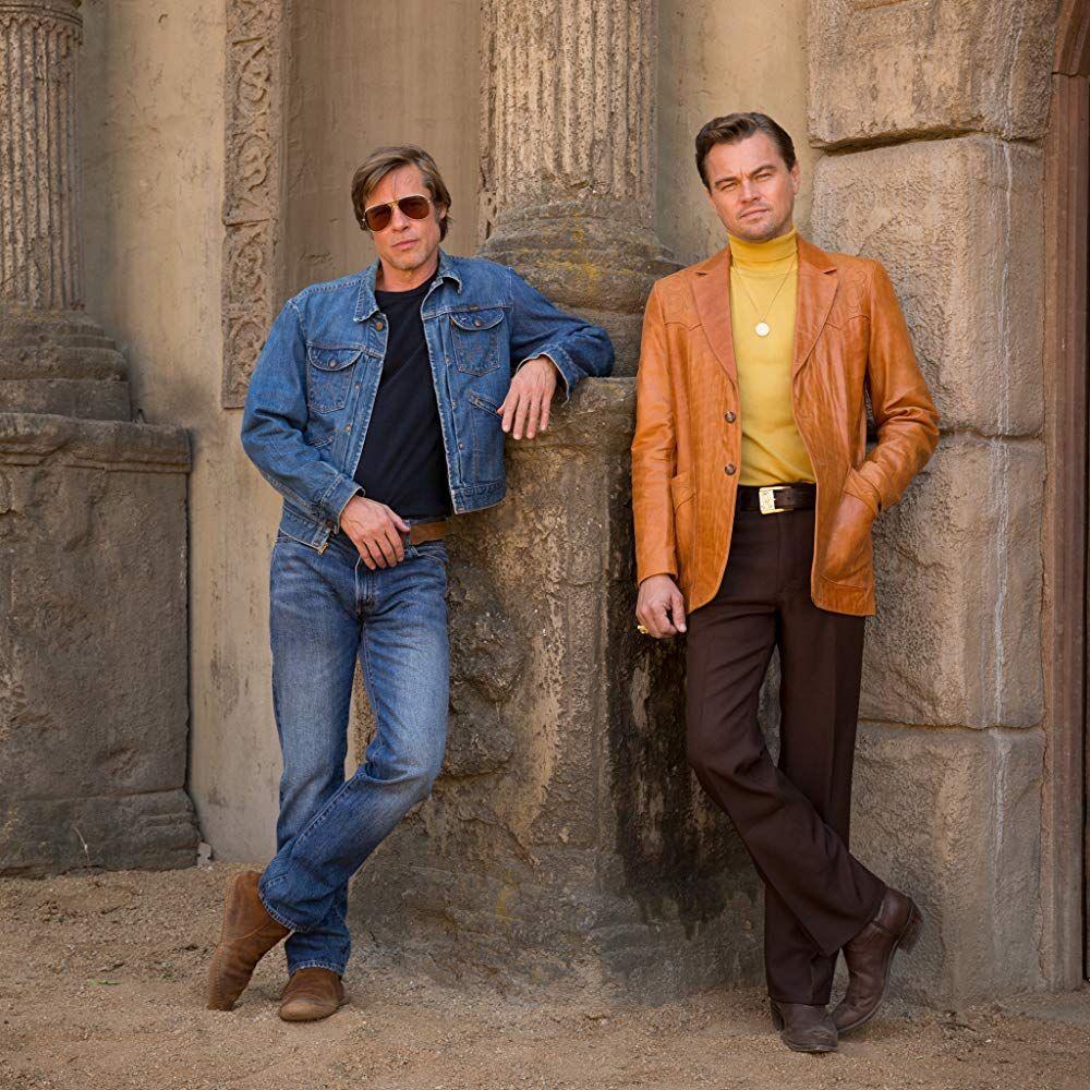 Brad Pitt And Leonardo Dicaprio In Once Upon A Time In Hollywood 2019 Leonardo Dicaprio Director De Fotografía Brad Pitt