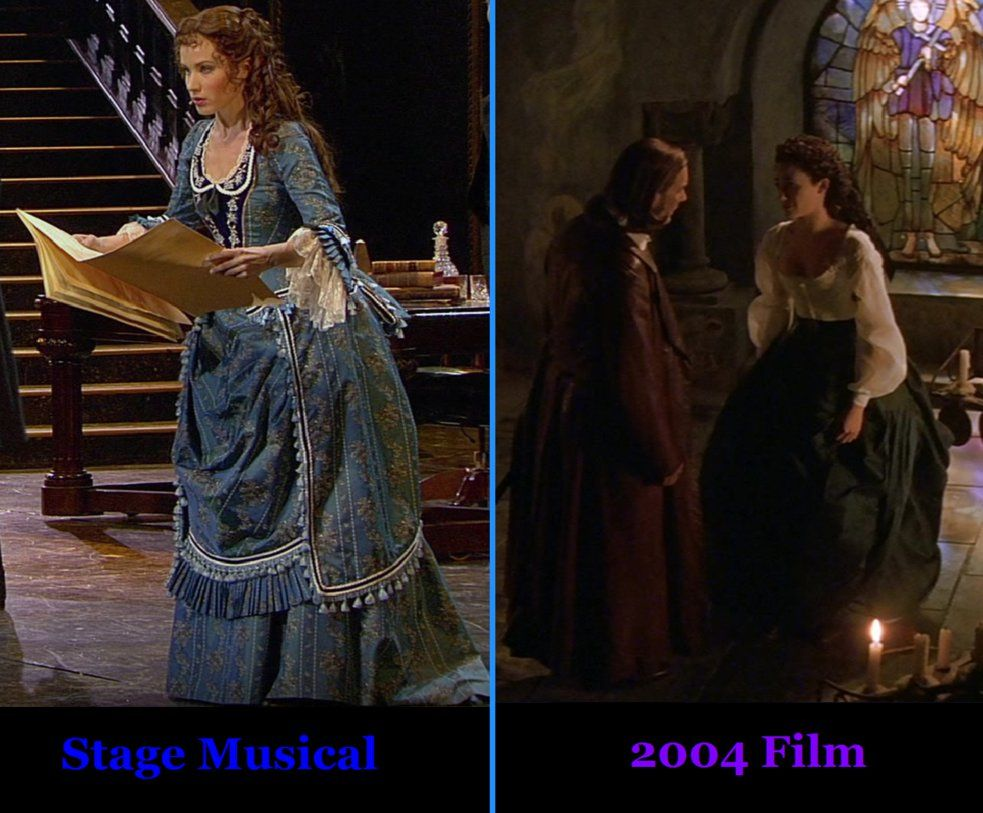 1f8b9601d99e1 Christine Daae - Blue Dress by Louisajane on DeviantArt<<<I love both  dresses so much!!