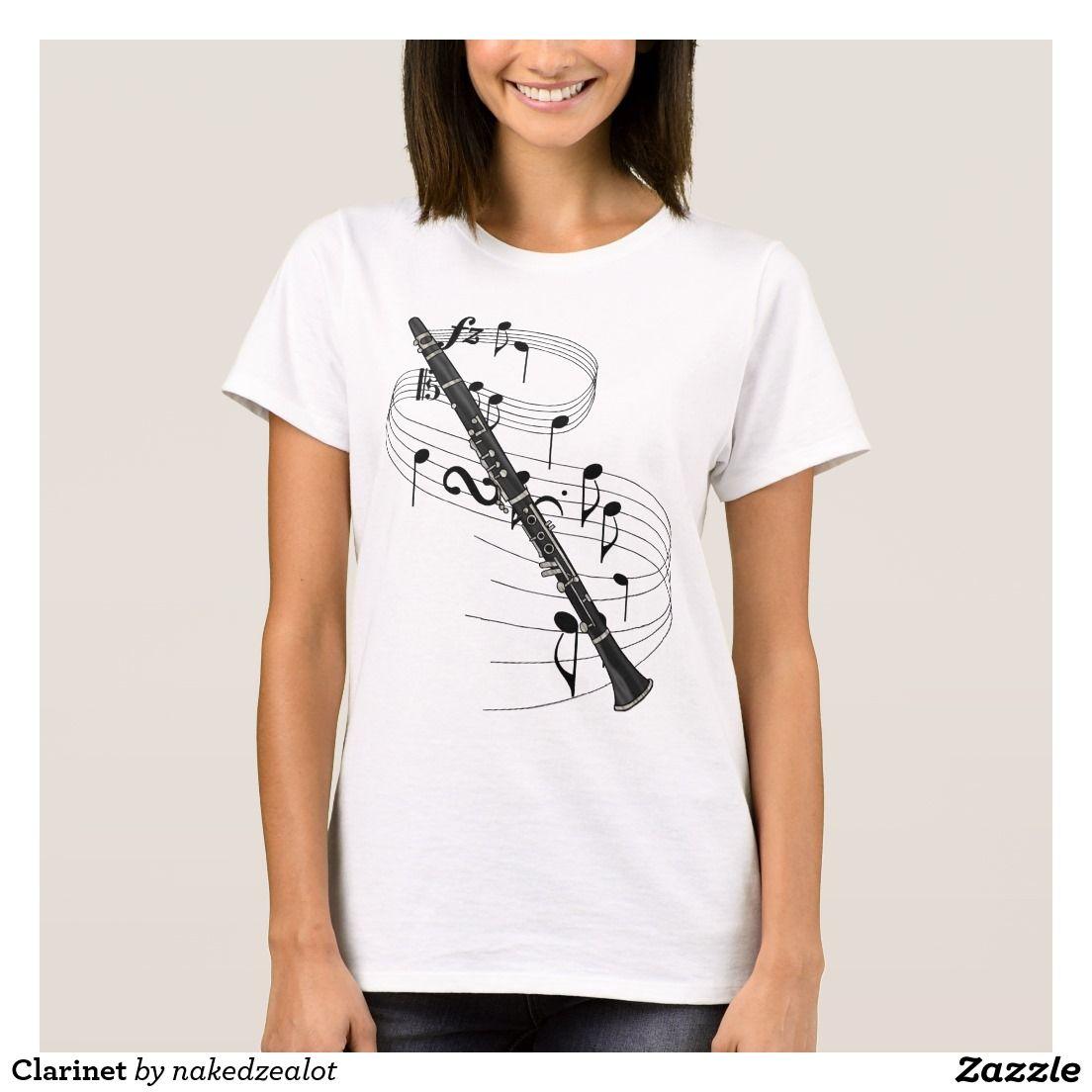 Clarinet T-Shirt | Marching Band awesomeness! | Pinterest