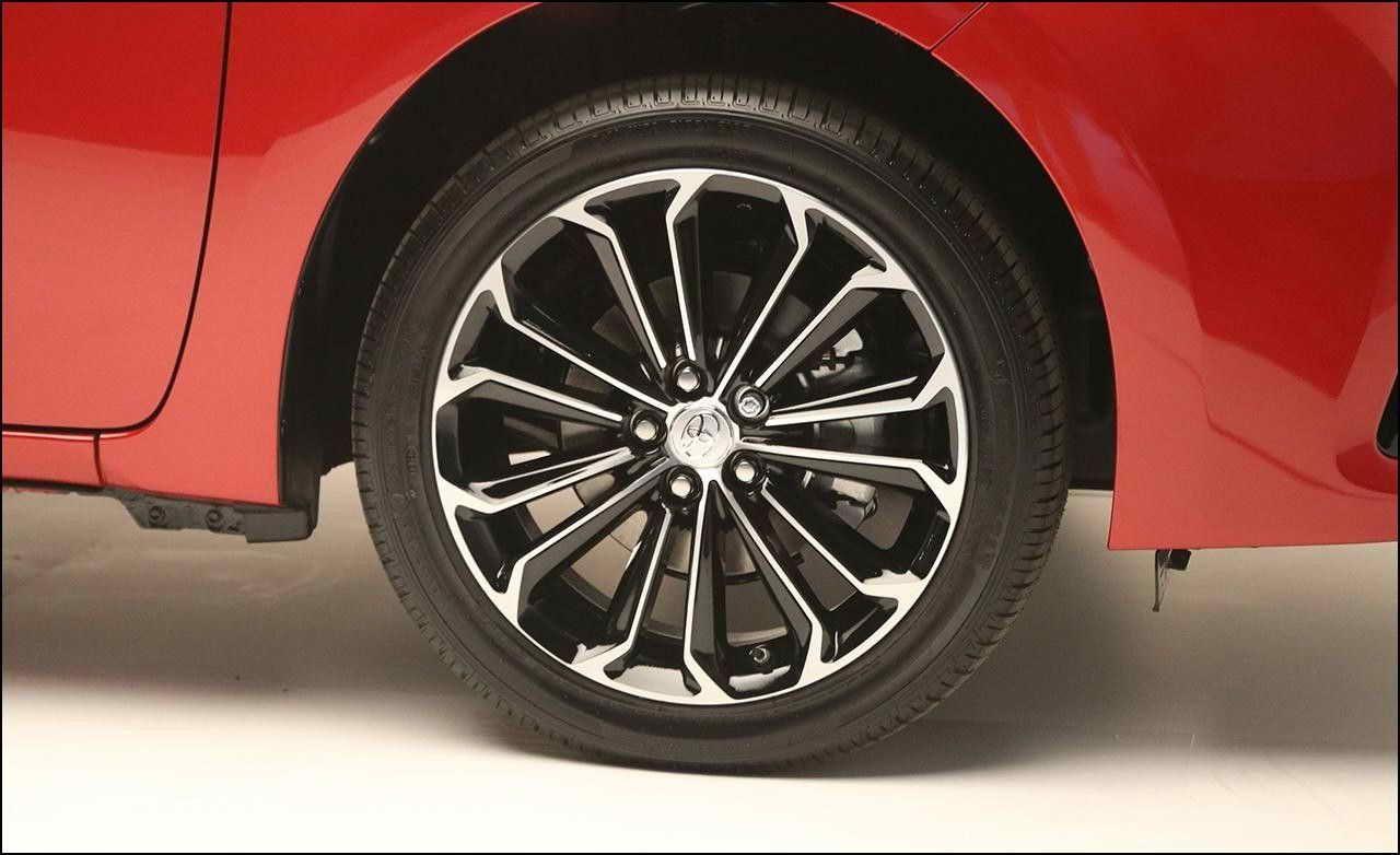 2014 Toyota Corolla Sport Tire Size