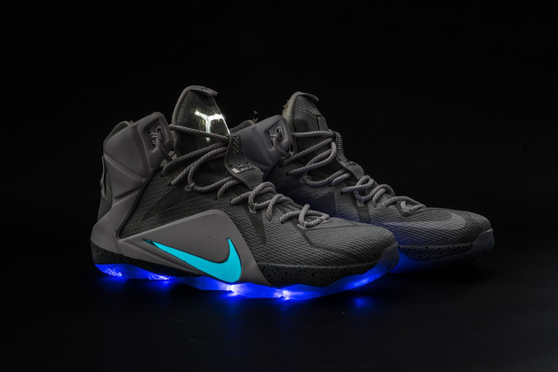 "Nike LeBron 12 ""Mag"" Custom  380ac05db38"