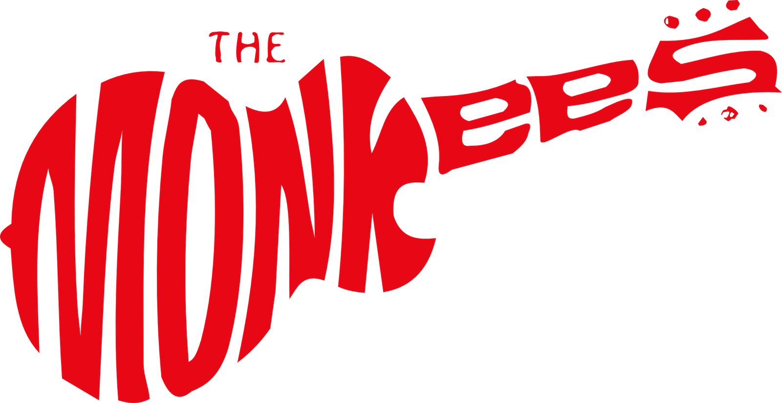 The Monkees logo Pop posters