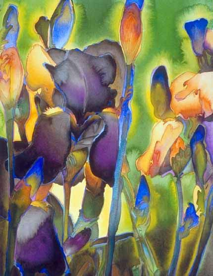 Watercolor by Carol Carter.
