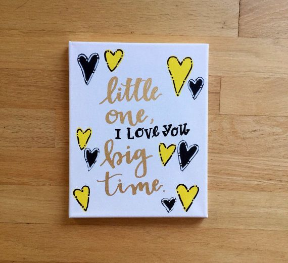 Big little sorority canvas new baby canvas by HouseOneEleven #biglittlecanvas