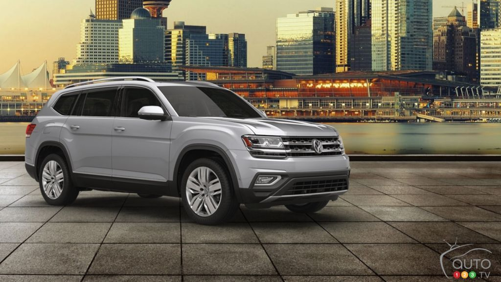 The 2018 Volkswagen Atlas is available now Volkswagen