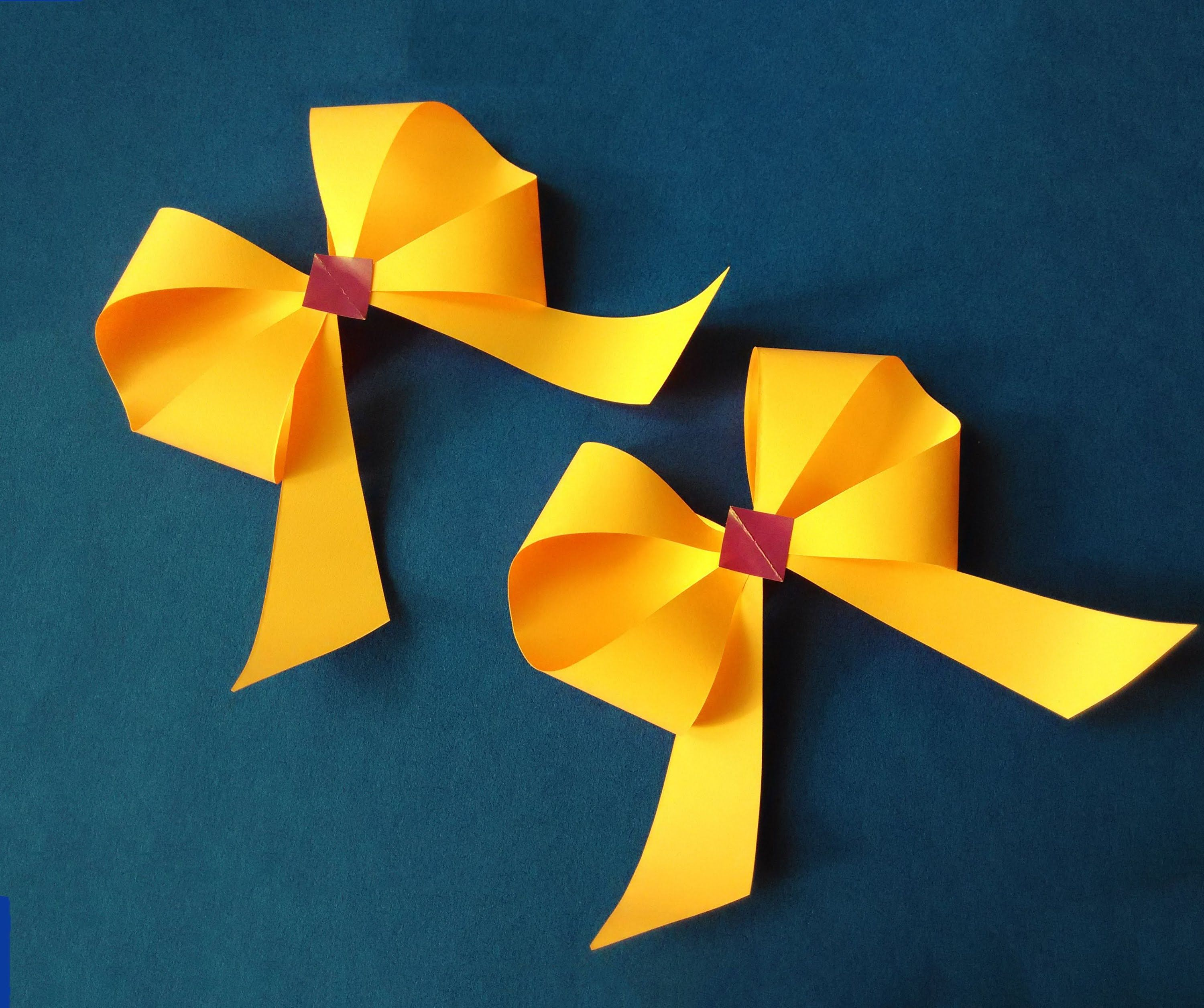 HOW TO MAKE AN ORIGAMI PAPER BOW. — Gathering Beauty | 2512x3000