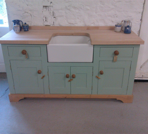 Freestanding Kitchen Belfast Sink Unit (With images ...