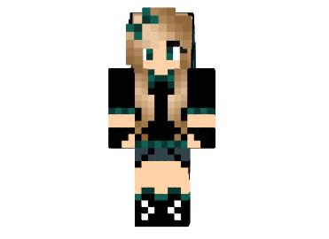 Ender Pearl Girl Skin File Minecraft Com Minecraft Girl Skins Minecraft Pixel Art Pixel Art