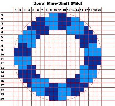 Minecraft Spiral Mineshaft Pattern Minecraft Construction