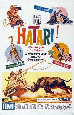 John Wayne Hatari Old Movie Posters John Wayne Movies John Wayne